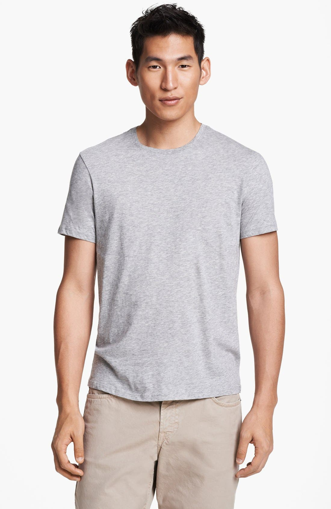 Alternate Image 1 Selected - Vince Pima Cotton Crewneck T-Shirt