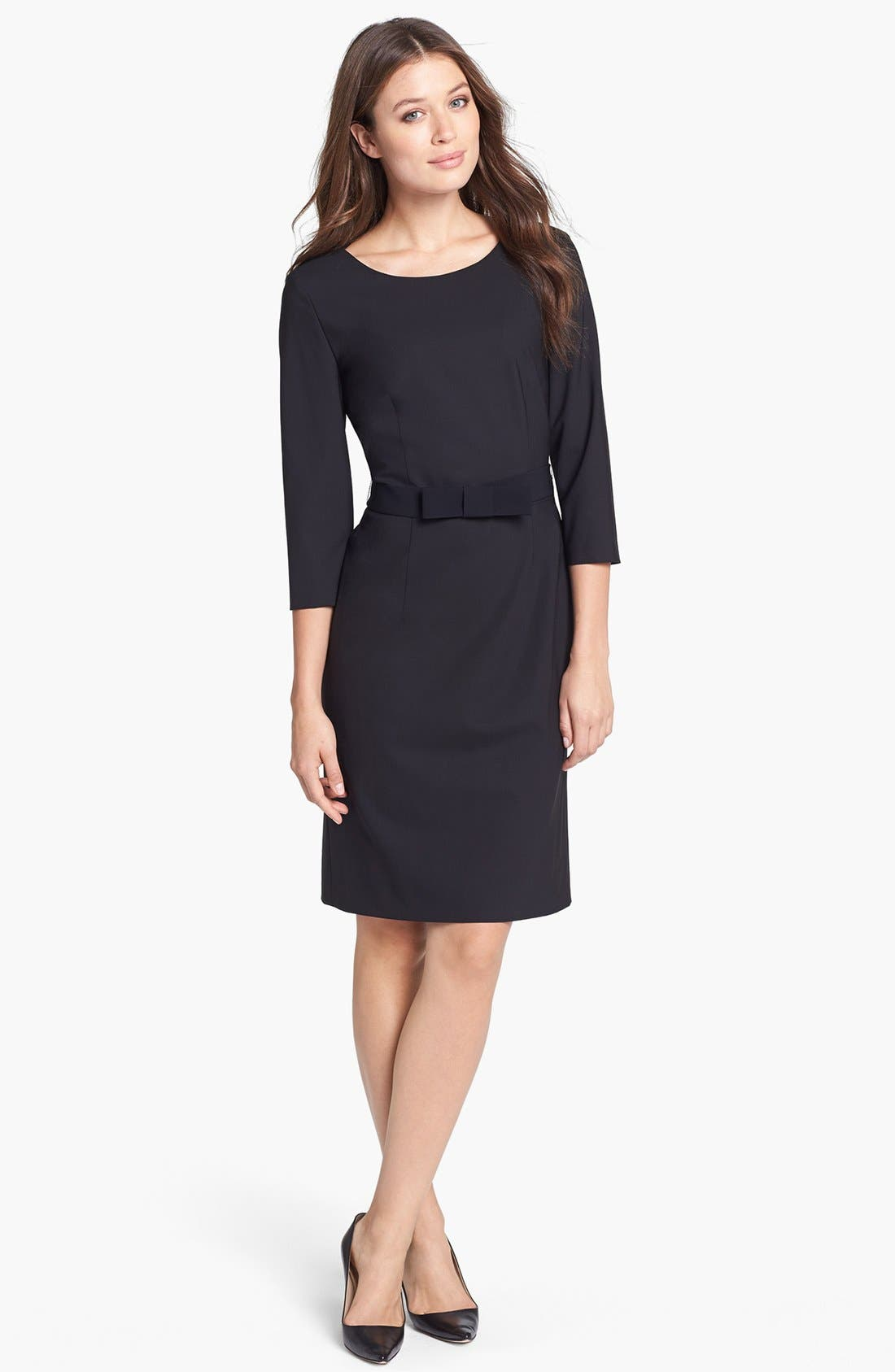 Alternate Image 1 Selected - BOSS HUGO BOSS 'Dinamera1' Sheath Dress