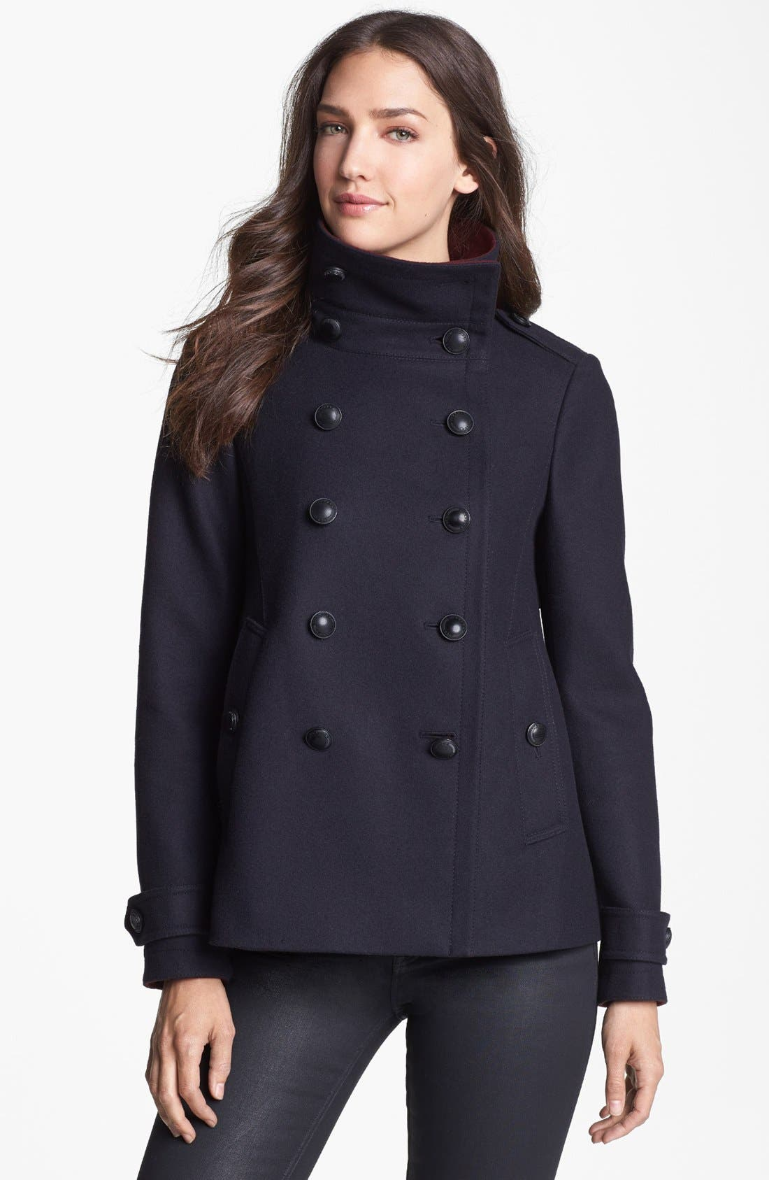 Alternate Image 1 Selected - Burberry Brit 'Hullsbury' Peacoat