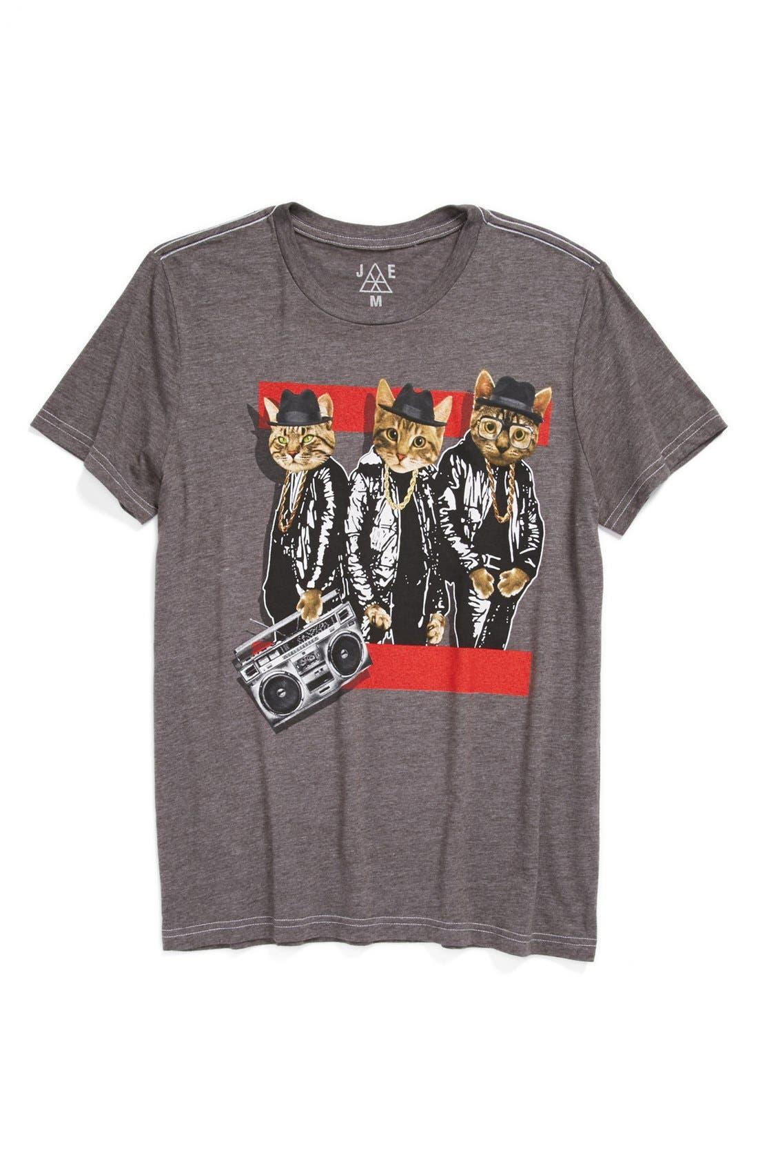 Alternate Image 1 Selected - Jem 'Cat' T-Shirt (Big Boys)