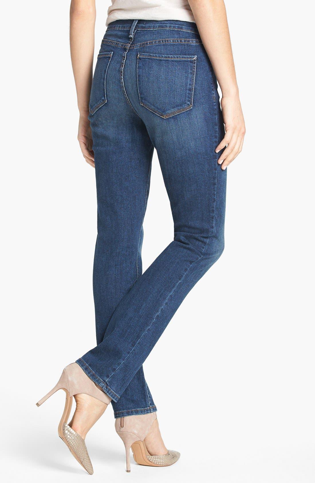 Alternate Image 2  - NYDJ 'Sheri' Stretch Skinny Jeans (Lynbrook)