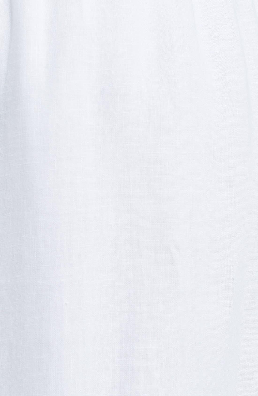 Alternate Image 3  - eskandar Lightweight Linen Drawstring Trousers