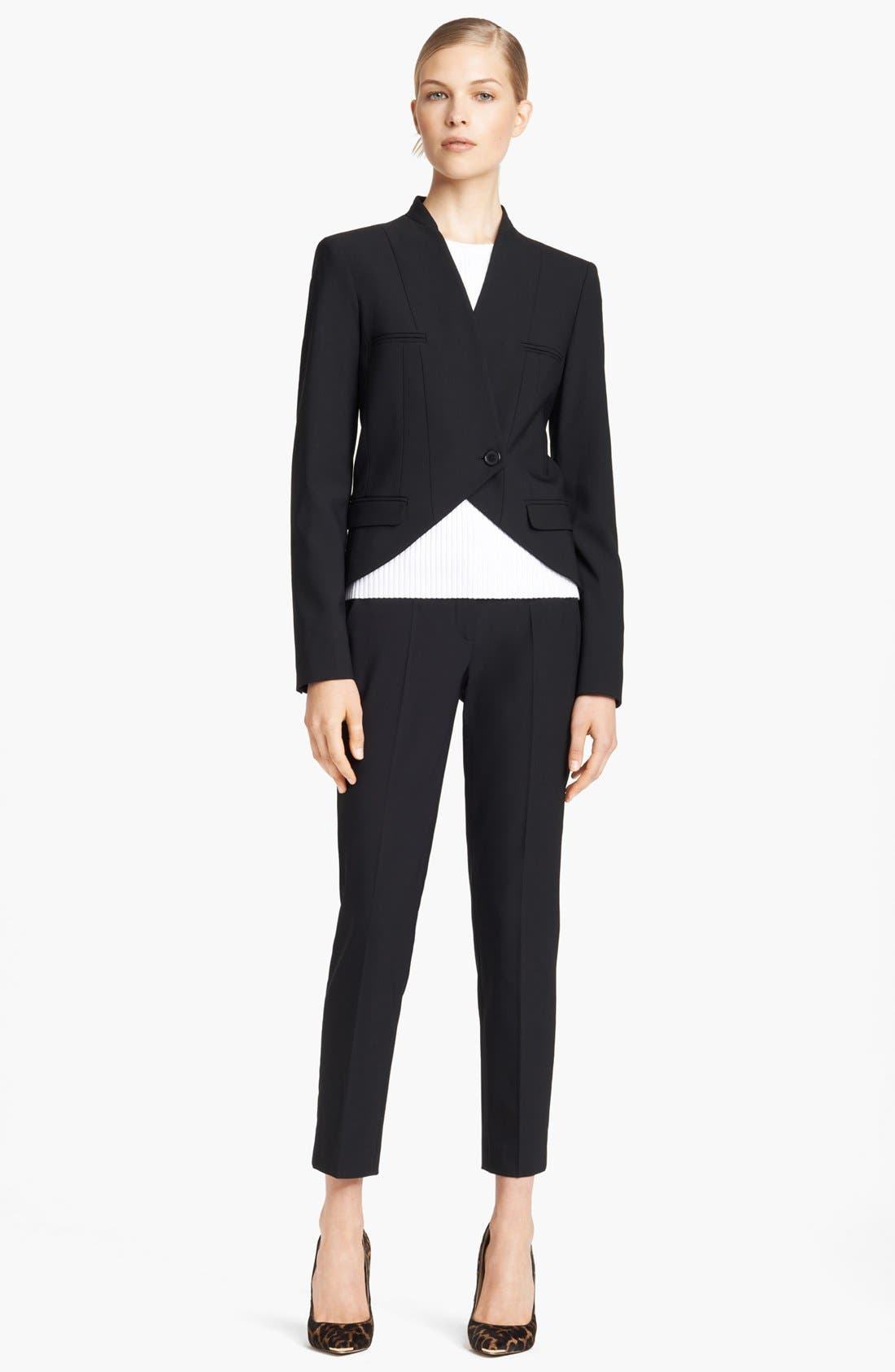 Alternate Image 3  - Michael Kors 'Samantha' Skinny Stretch Wool Pants