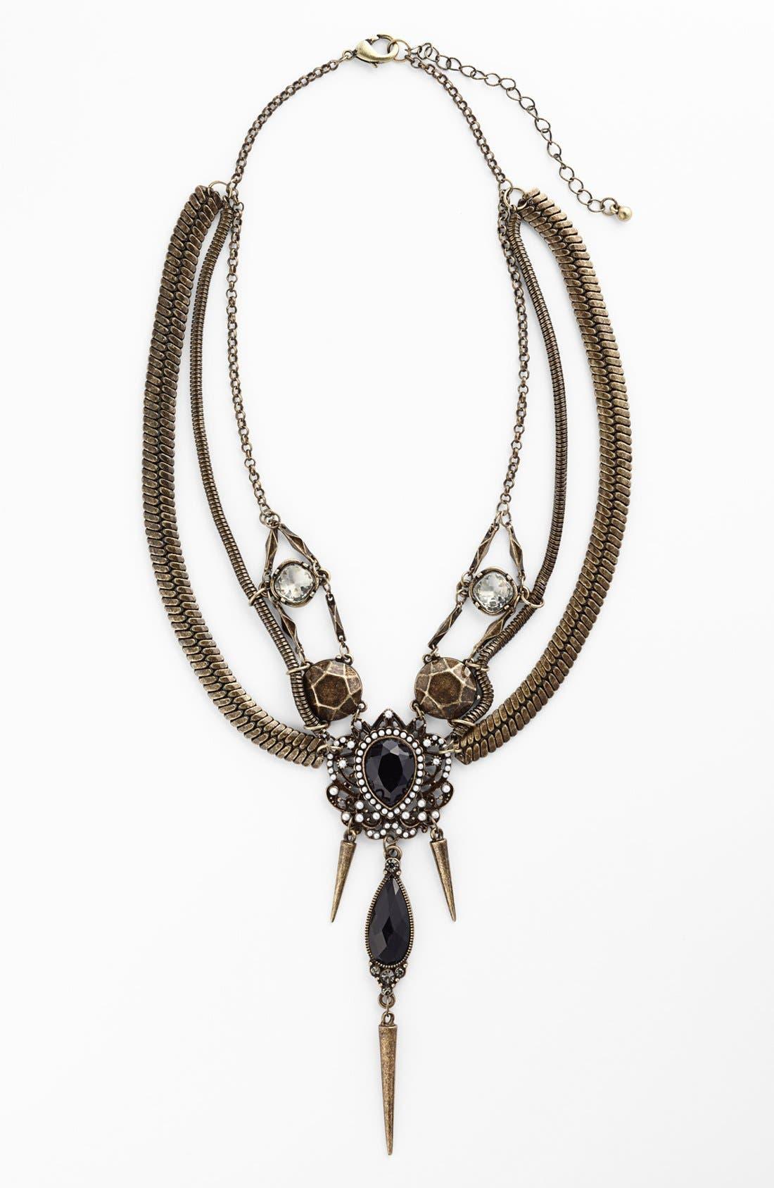Main Image - Tildon 'Victorian Armor' Statement Necklace
