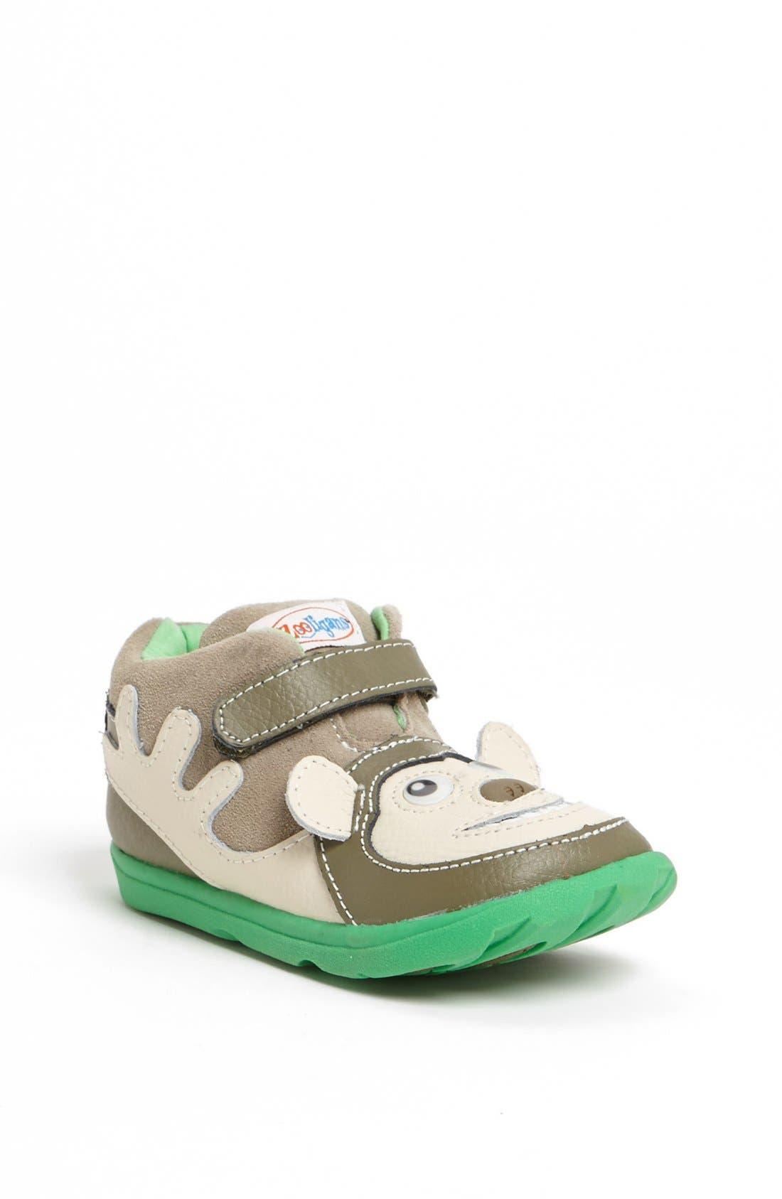 Alternate Image 1 Selected - Zooligans™ 'Bobo the Monkey' Sneaker (Baby, Walker, Toddler & Little Kid)