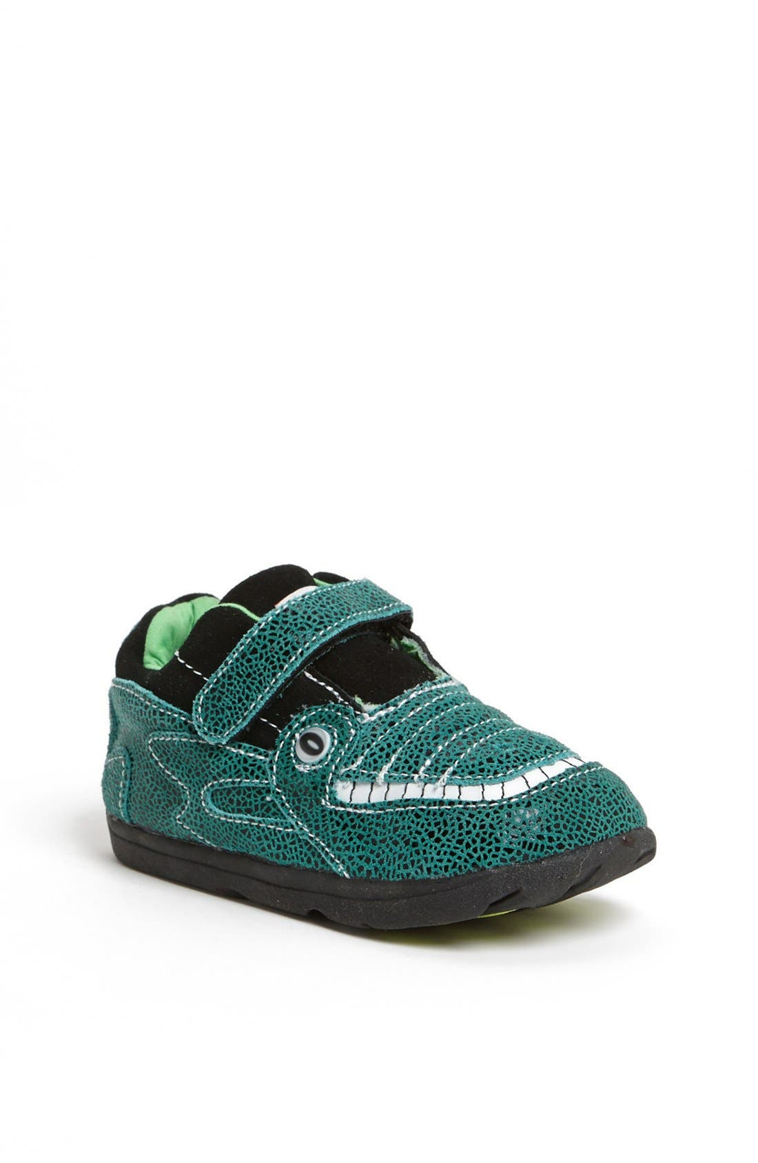 Alternate Image 1 Selected - Zooligans™ 'Jacques the Gator' Sneaker (Baby, Walker, Toddler & Little Kid)