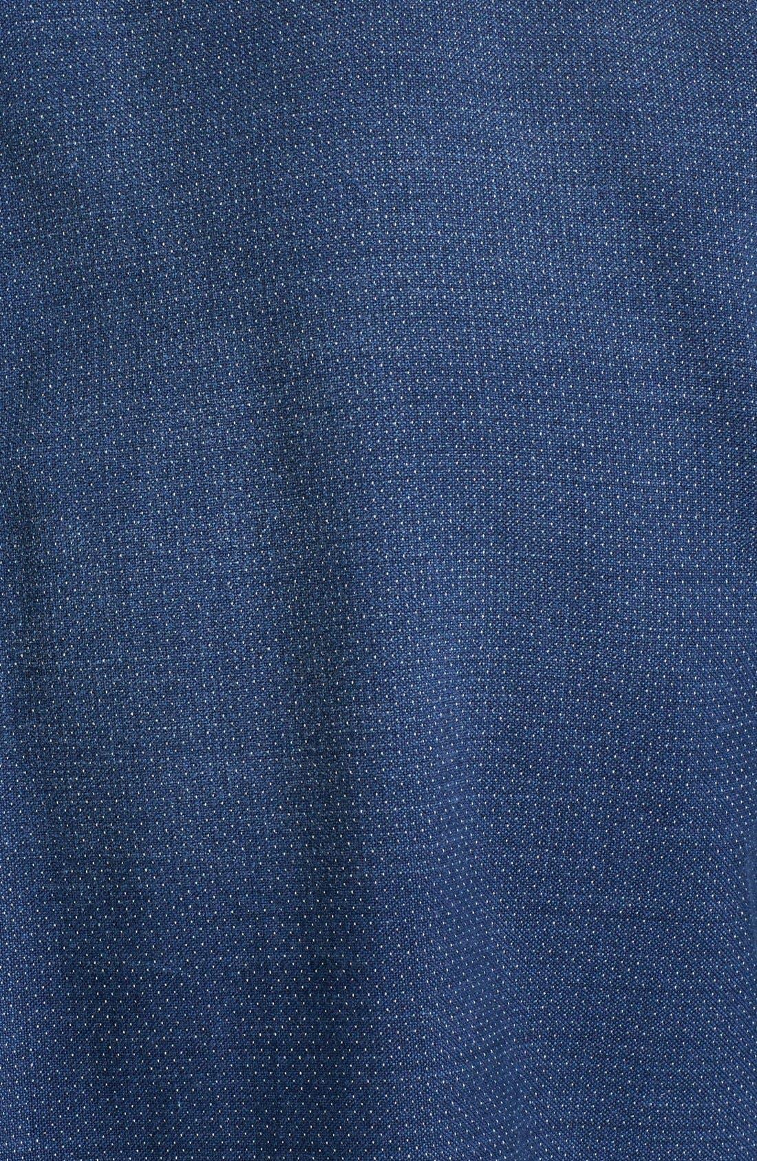 Alternate Image 3  - Façonnable Club Fit Dobby Sport Shirt