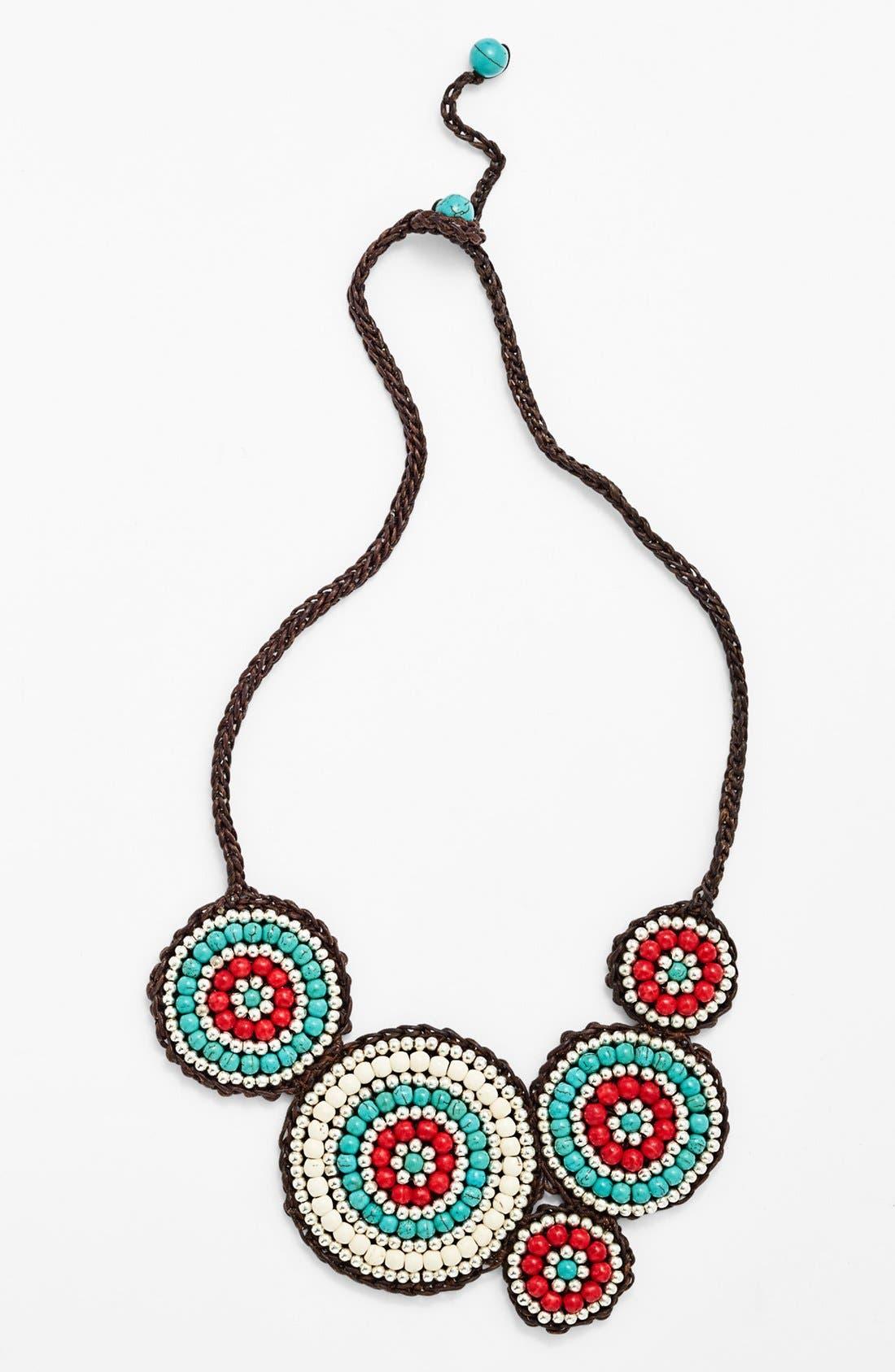 Alternate Image 1 Selected - Panacea Howlite Bib Necklace