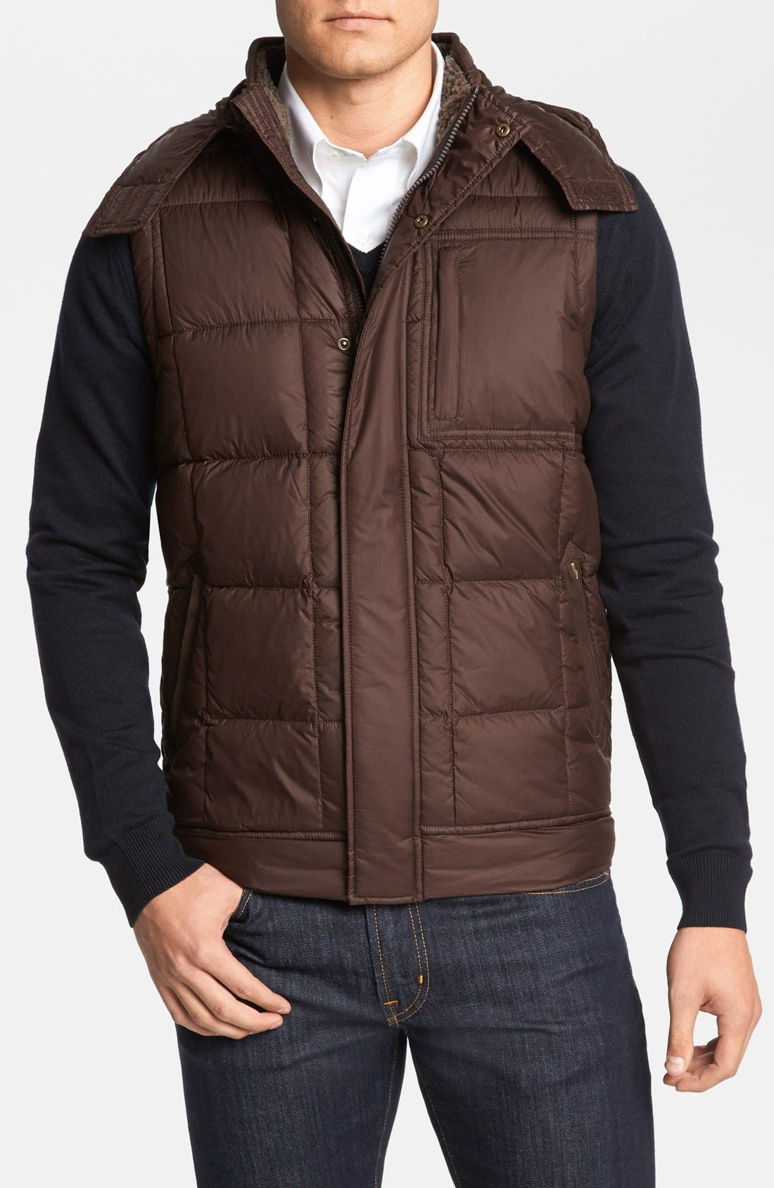 Alternate Image 1 Selected - UGG® Australia 'Poia II' Down Puffer Vest