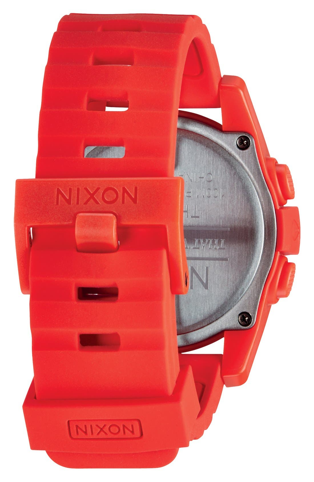 Alternate Image 3  - Nixon 'The Unit' Round Digital Watch, 44mm