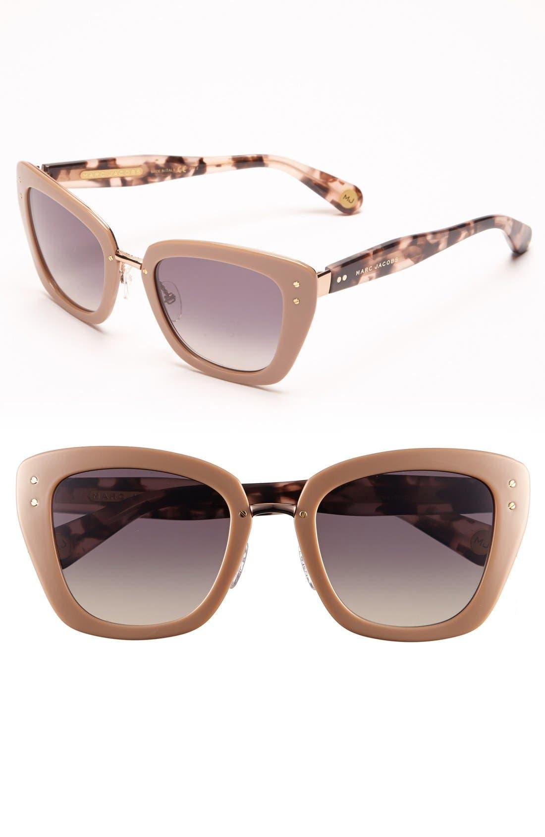 Main Image - Marc Jacobs 53mm Retro Sunglasses