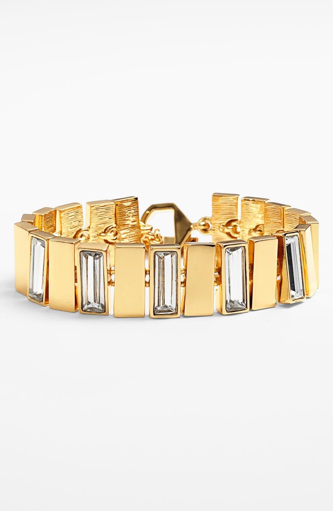 Alternate Image 1 Selected - Vince Camuto 'Crystal Clear' Baguette Crystal Bracelet