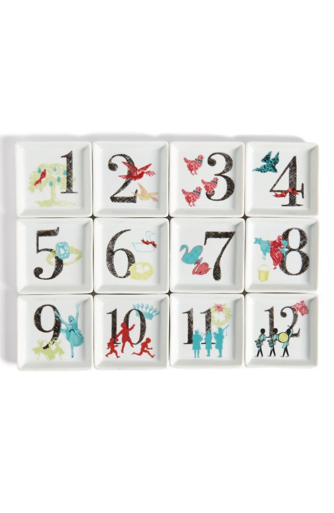 Main Image - Rosanna 'Twelve Days of Christmas' Porcelain Dishes (Set of 12)