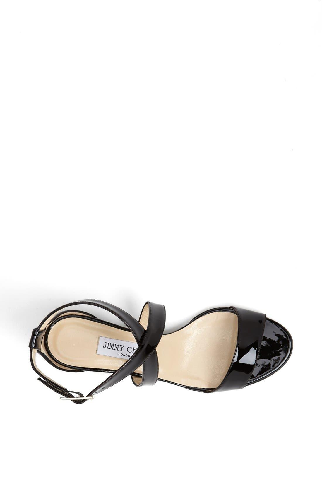 Alternate Image 6  - Jimmy Choo 'Chiara' Strap Wedge Sandal (Women)