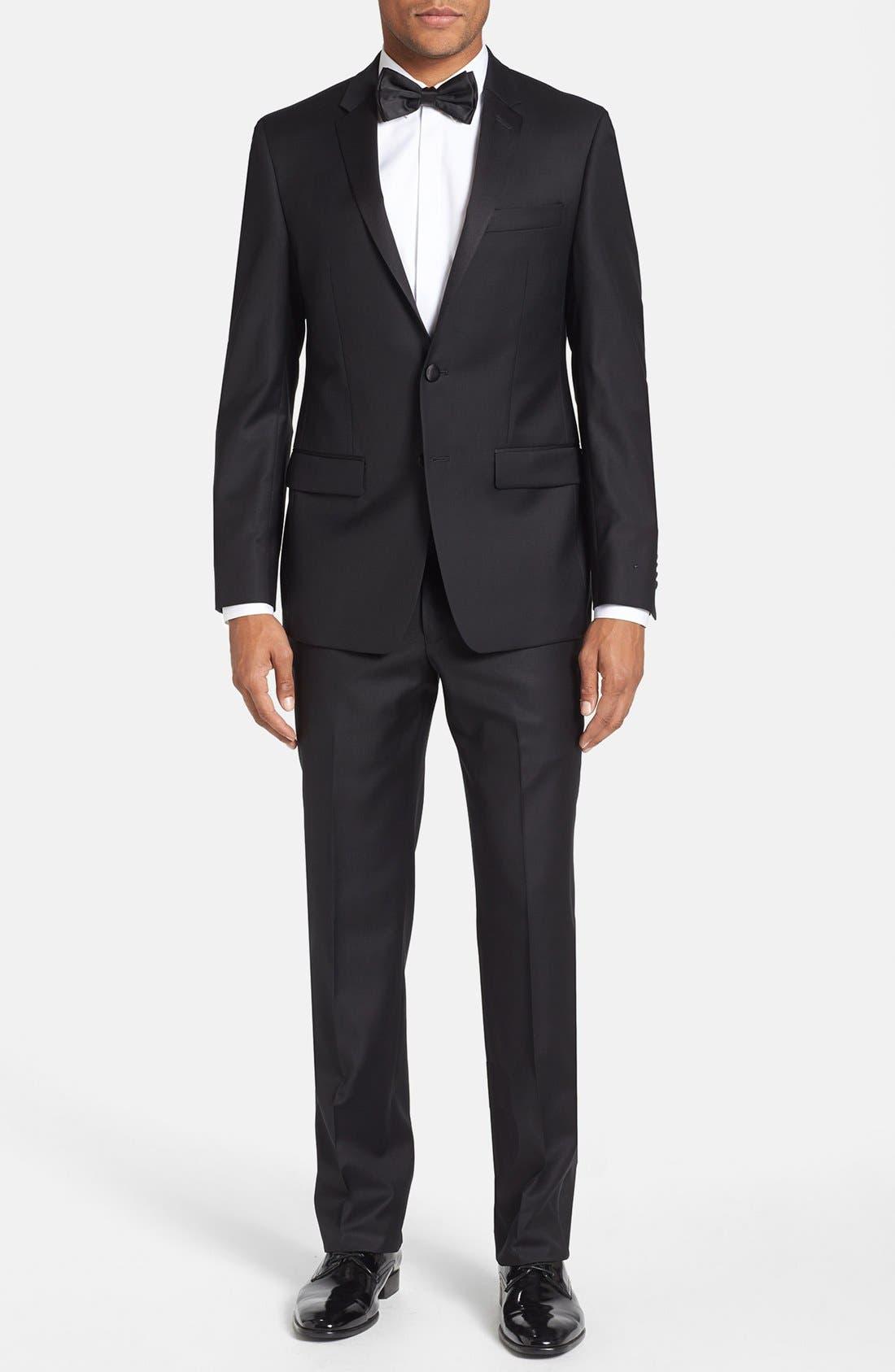 Alternate Image 1 Selected - Michael Kors Trim Fit Wool Tuxedo