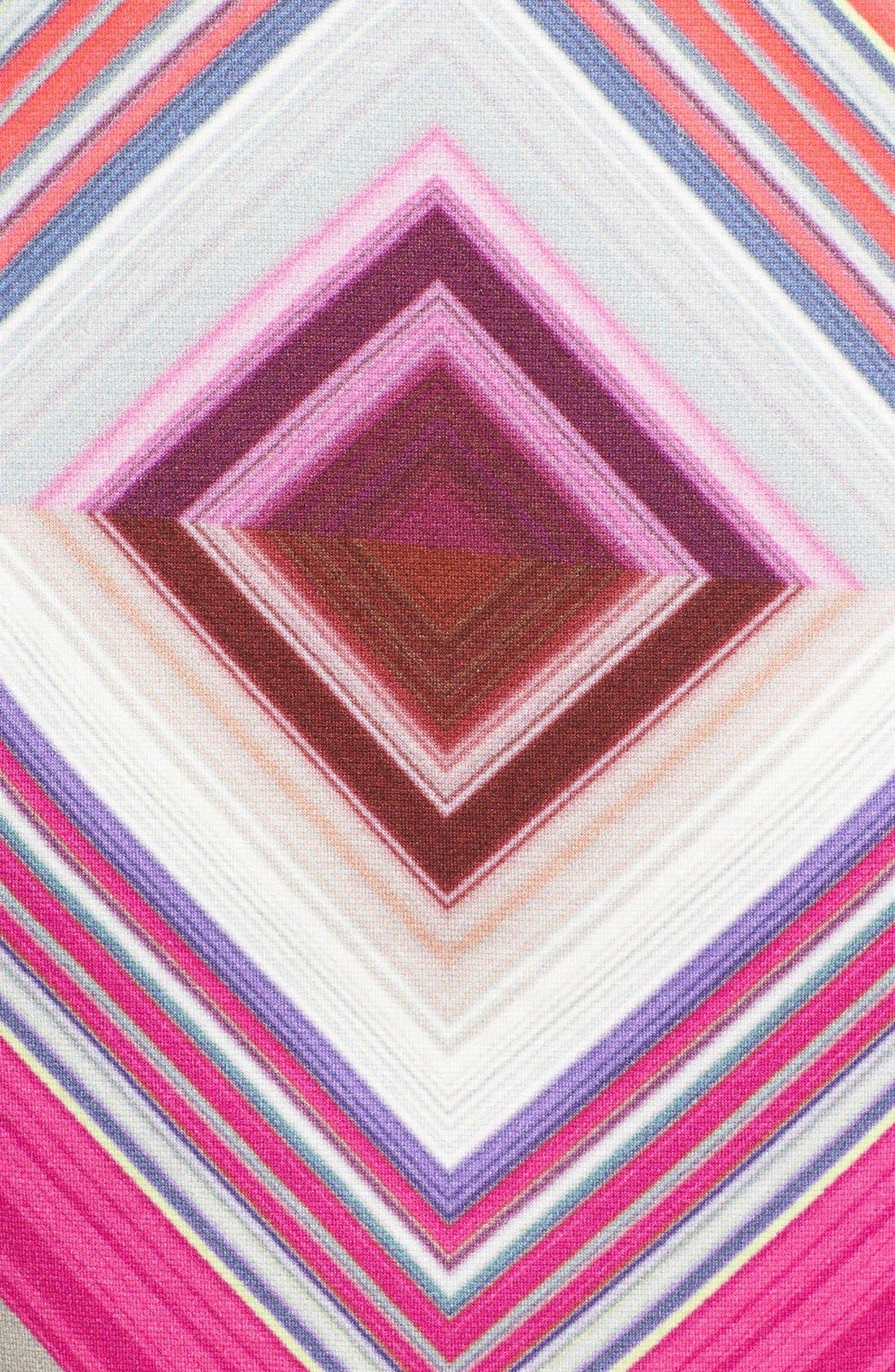 Alternate Image 3  - Trina Turk 'Jeju' Print Ponte Shift Dress