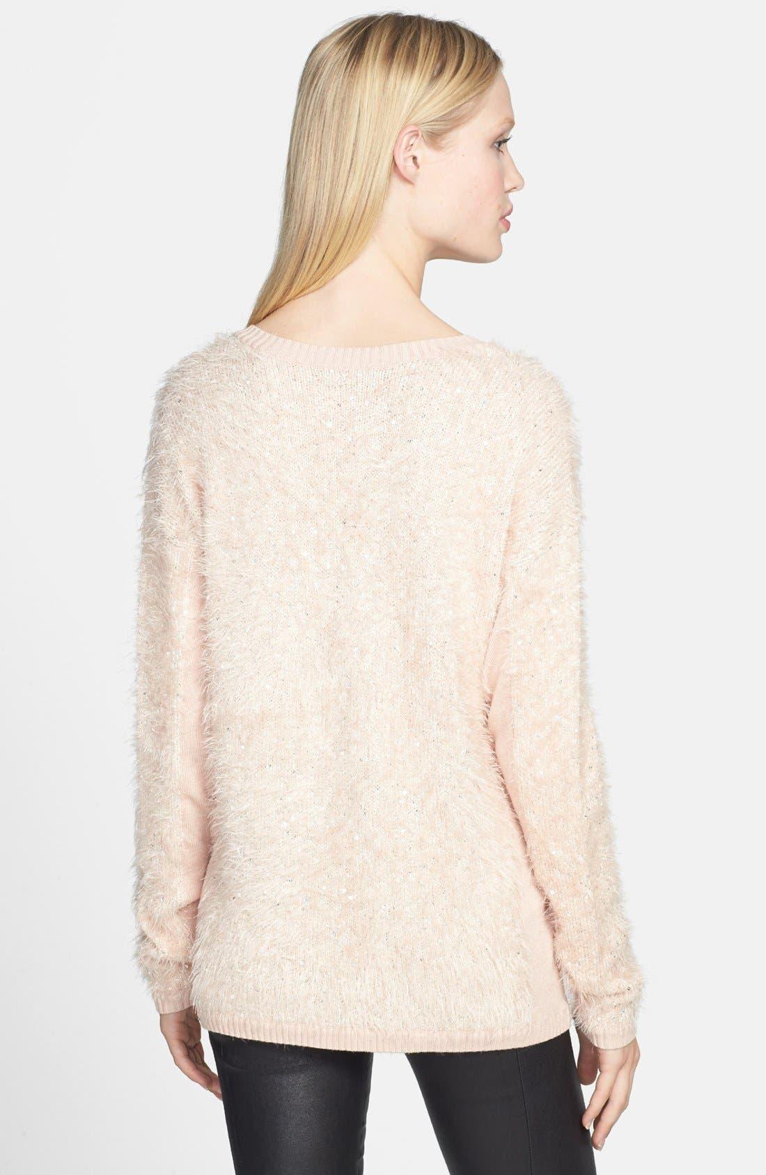 Alternate Image 2  - Trouvé Textured V-Neck Sweater