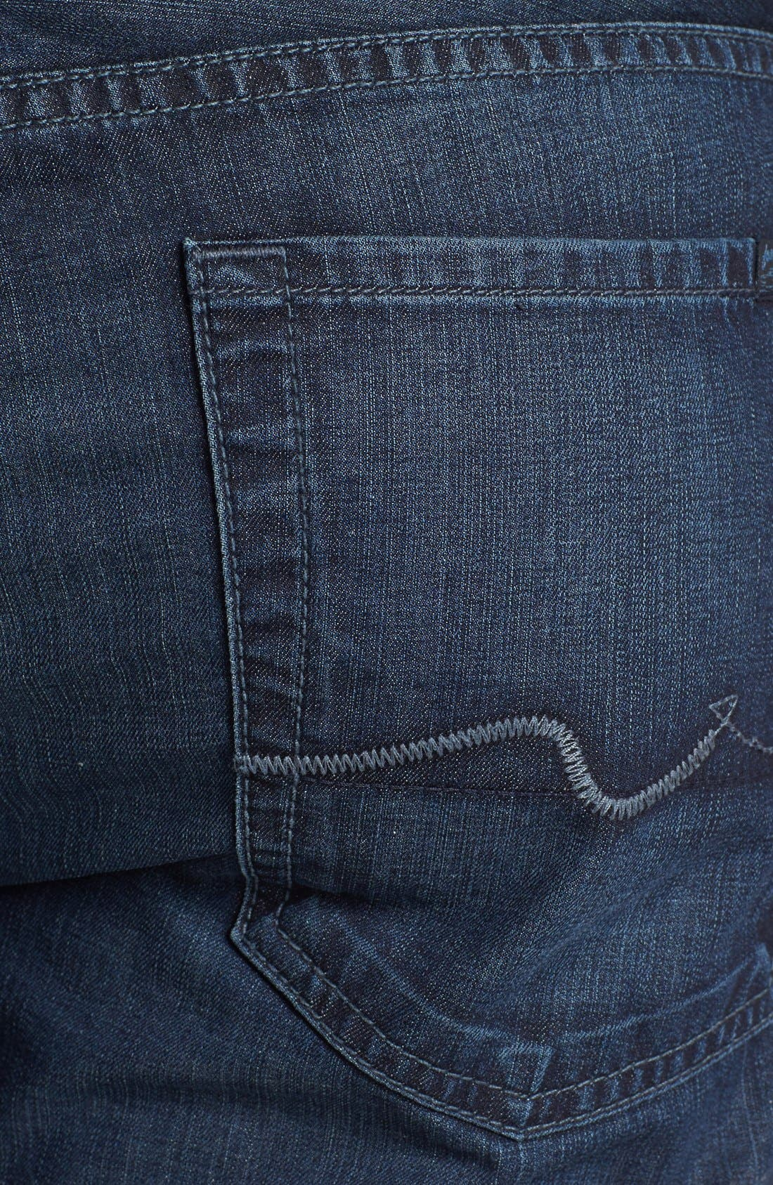 Alternate Image 4  - 7 For All Mankind® 'Austyn' Relaxed Fit Jeans (Highland Park Lane)