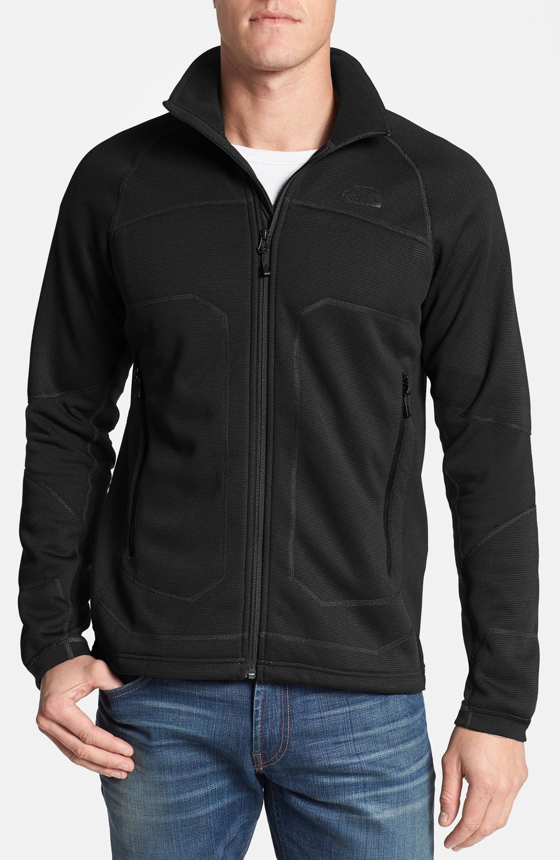 Alternate Image 1 Selected - The North Face 'Stealth Byron' Full Zip Sweater