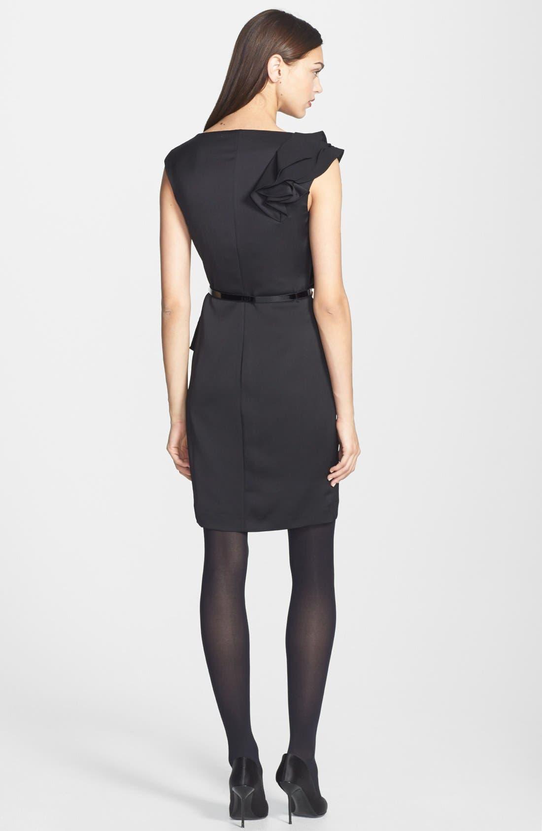 Alternate Image 2  - Ted Baker London 'Poielle' Woven Sheath Dress