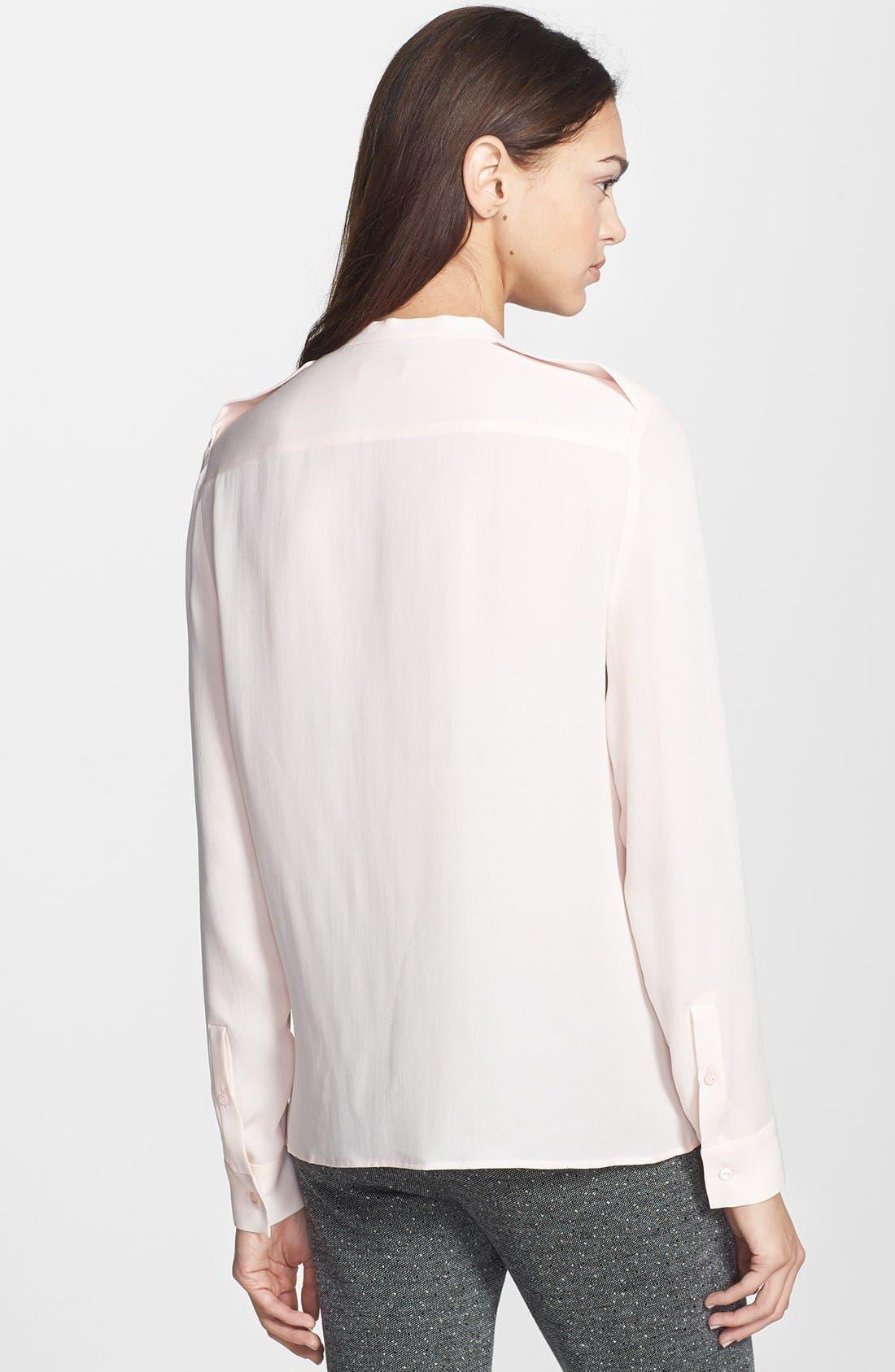Alternate Image 2  - Theory 'Brindan' Silk Blouse