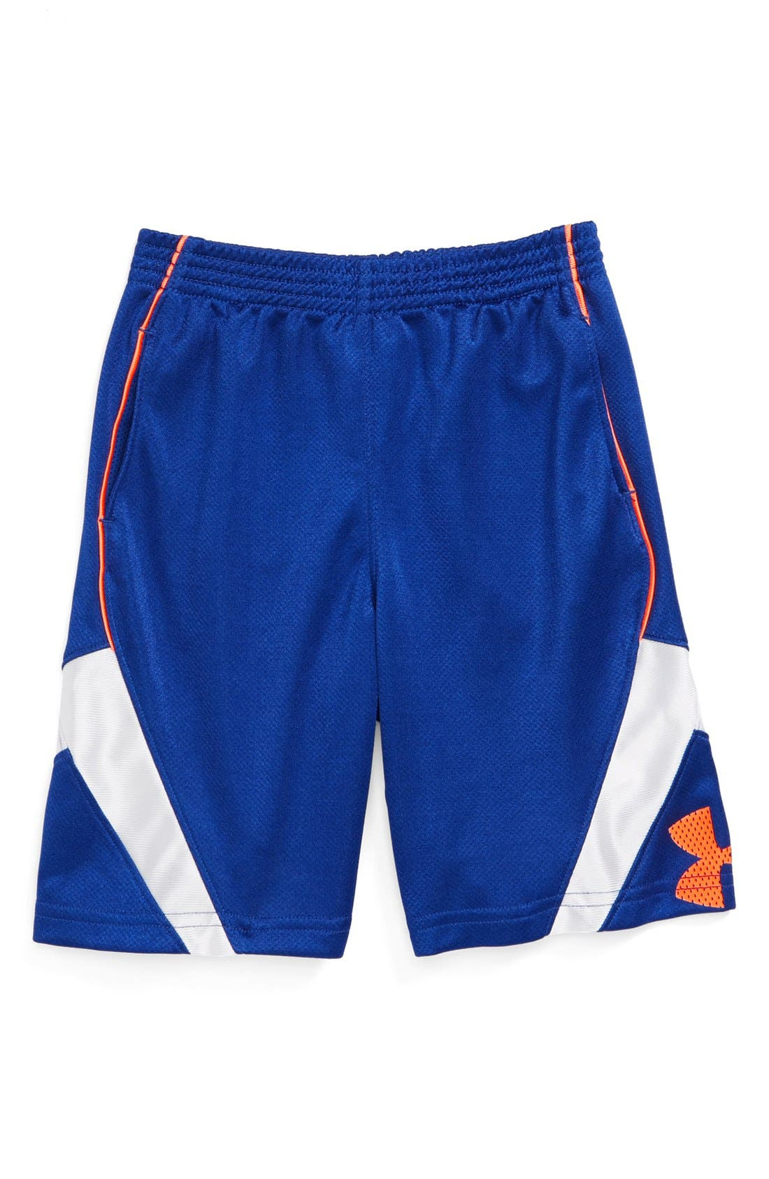 Alternate Image 1 Selected - Under Armour 'Jhawk' Shorts (Toddler Boys)