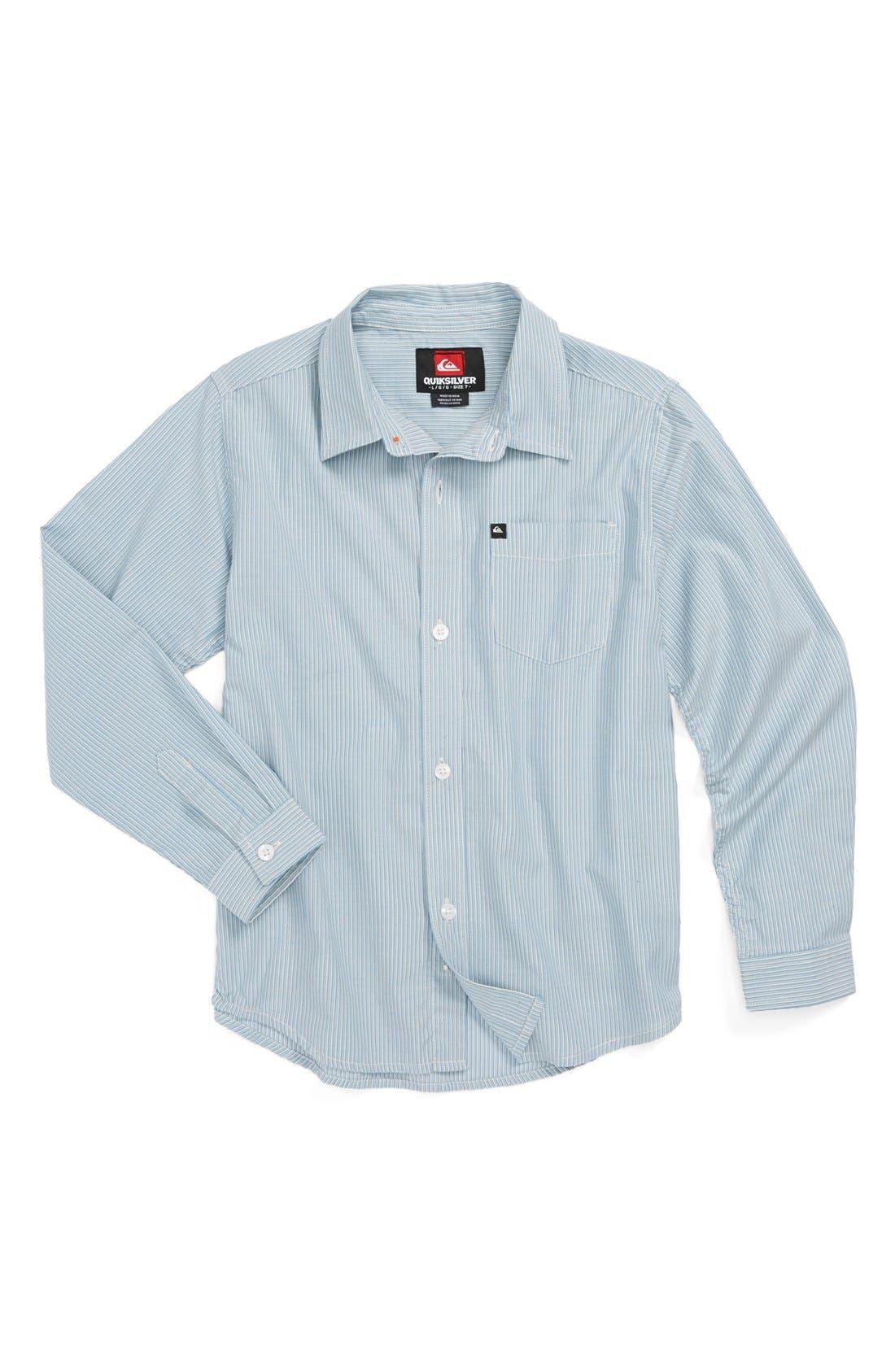Alternate Image 1 Selected - Quiksilver 'Midnight Dunk' Sport Shirt (Little Boys)