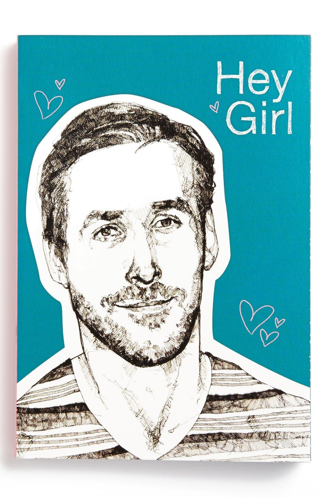 Alternate Image 1 Selected - Chronicle Books 'Hey Girl' Journal
