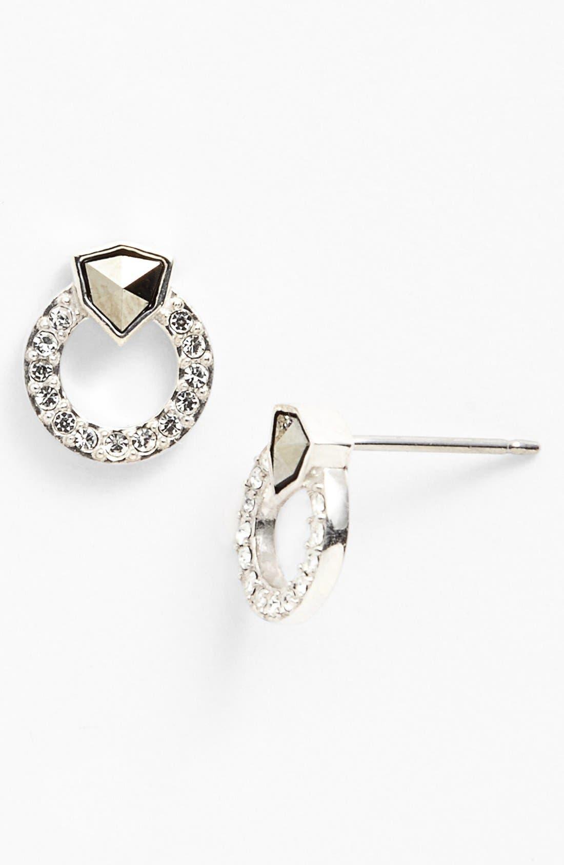 Alternate Image 3  - Judith Jack 'Shielded' Boxed Pendant Necklace & Stud Earring Set