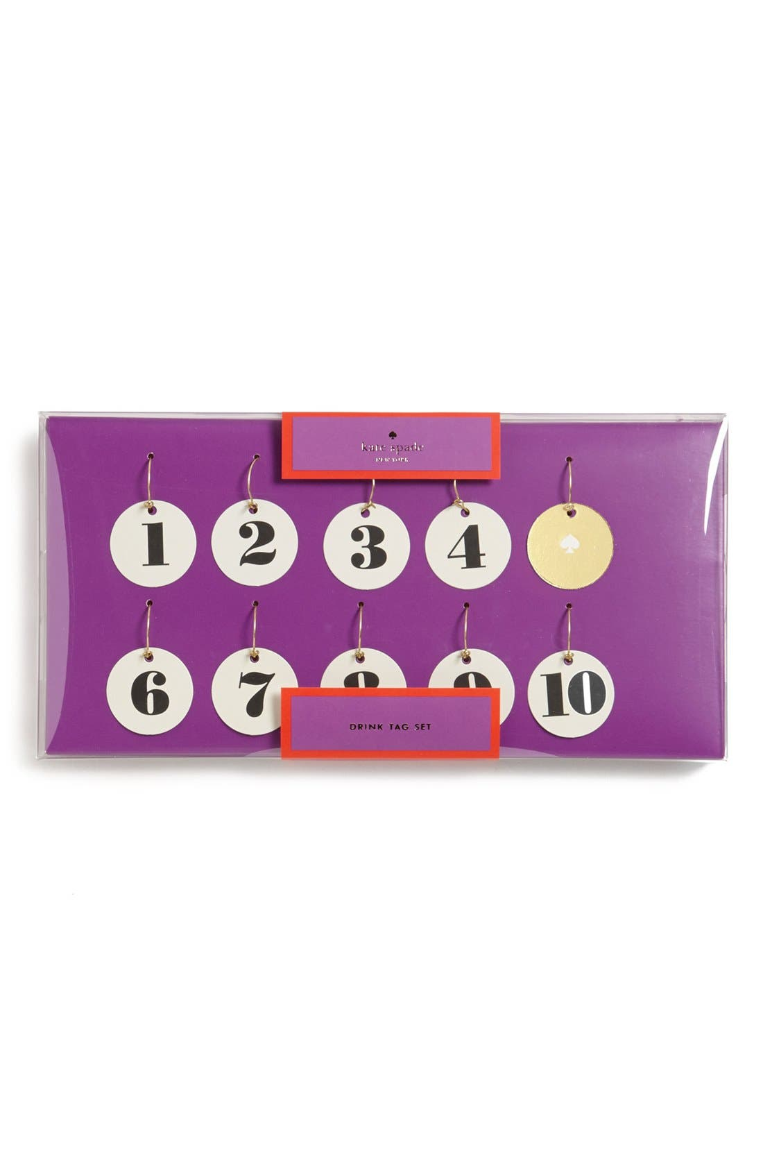 Alternate Image 1 Selected - kate spade new york wine charms (set of 10)