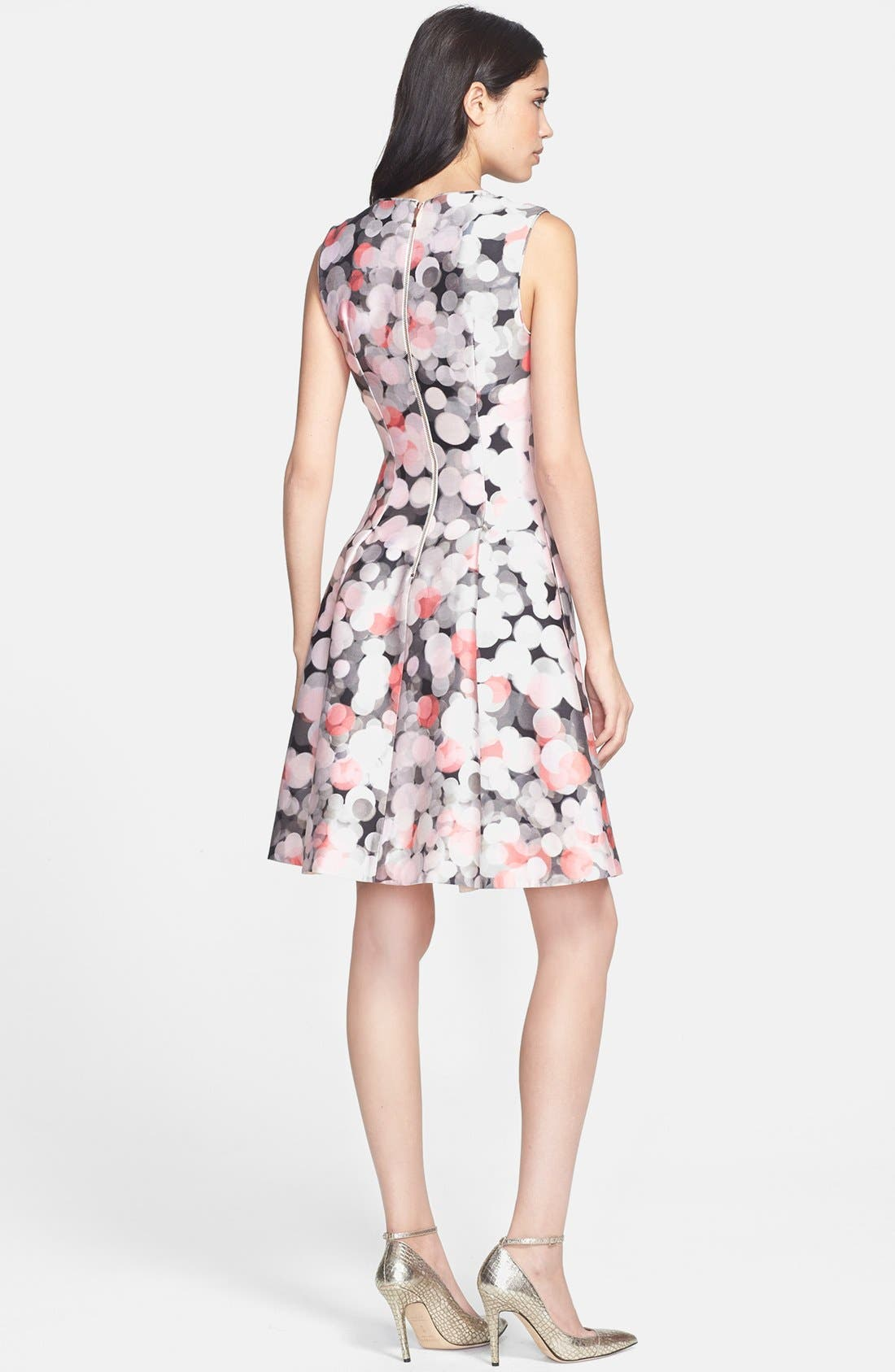 Alternate Image 2  - kate spade new york 'emma' fit & flare dress