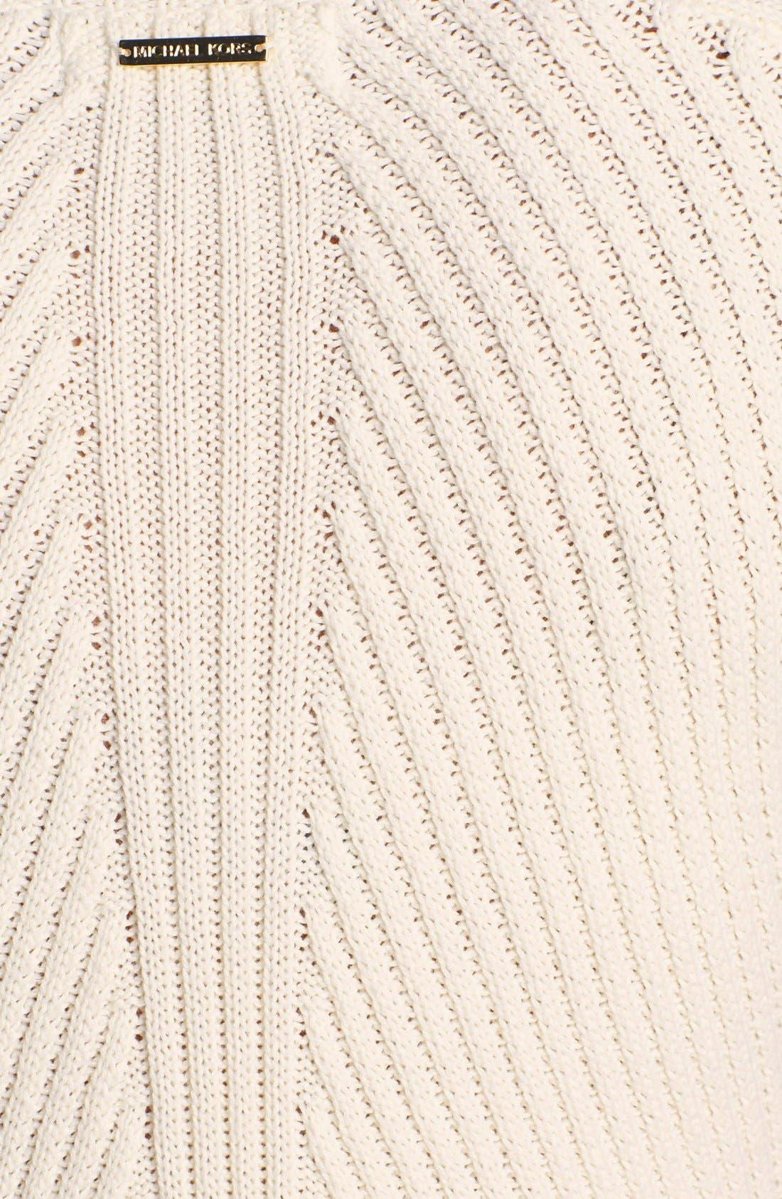 Alternate Image 3  - MICHAEL Michael Kors Studded Trim Ribbed Sweater