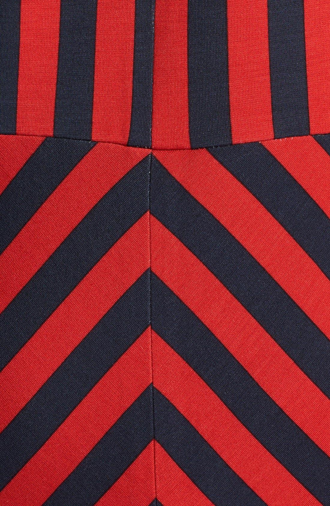Alternate Image 4  - GRID PRINT SWEATER DRESS