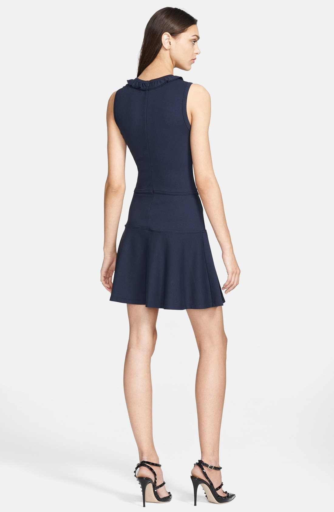 Alternate Image 2  - RED Valentino Interlock Jersey Dress
