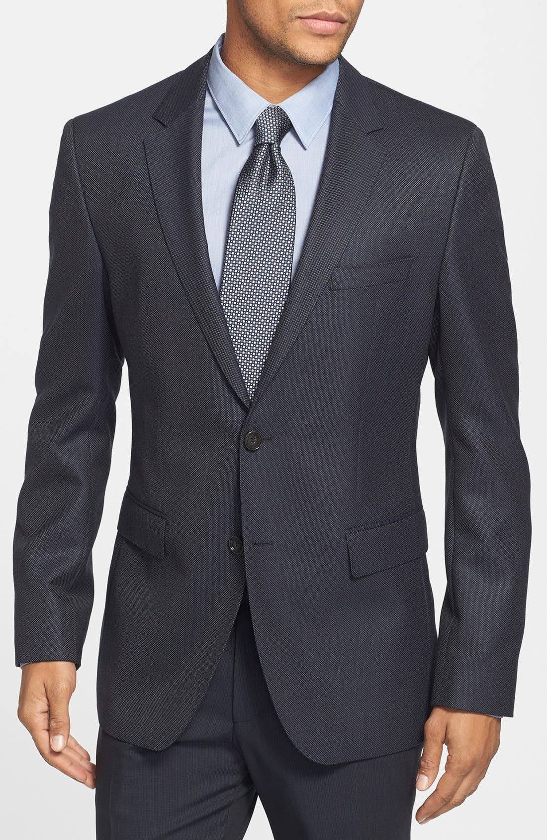 Alternate Image 1 Selected - BOSS HUGO BOSS 'James' Trim Fit Wool Sportcoat
