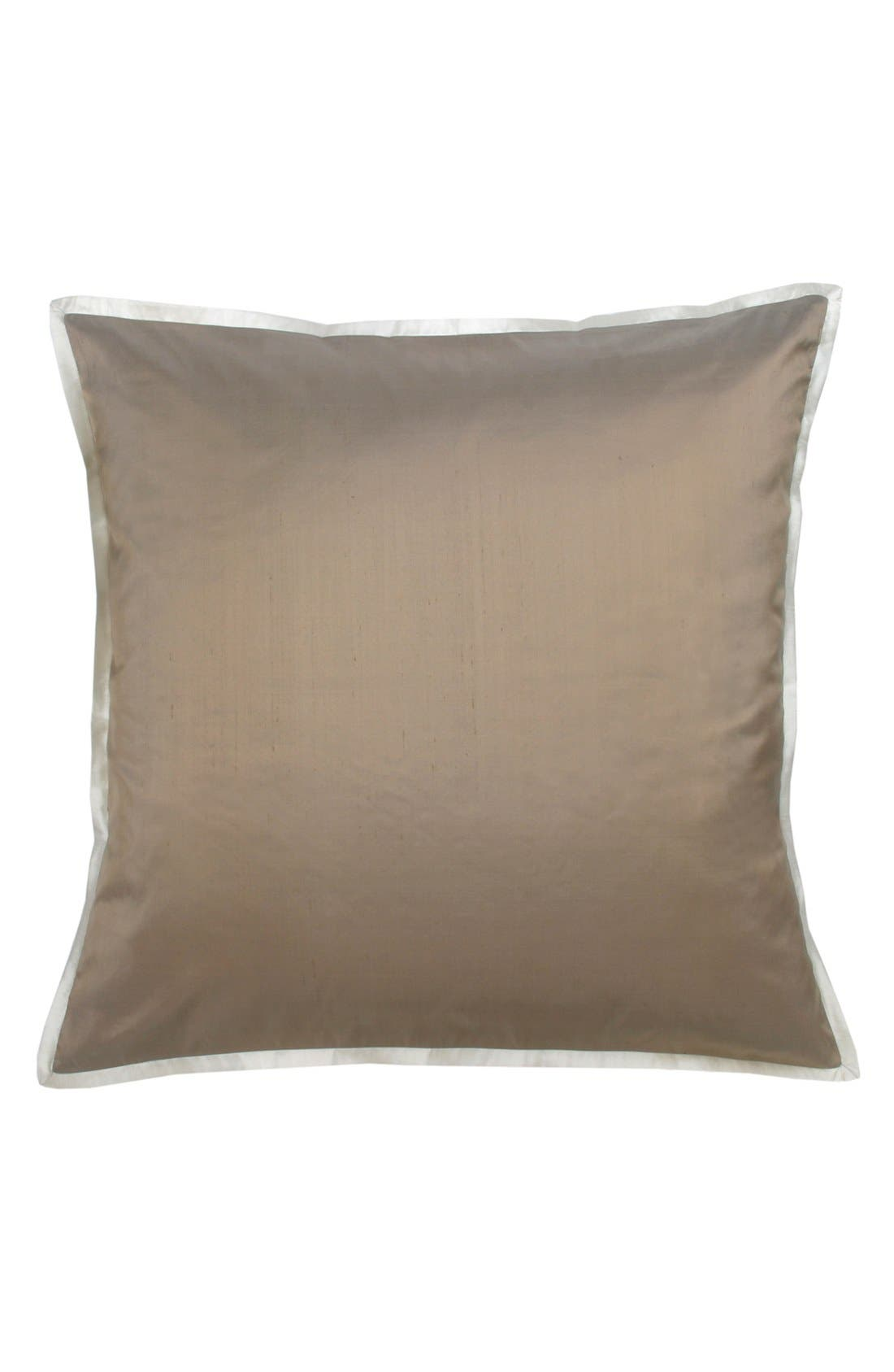 Main Image - Blissliving Home 'Lucca Bronze' Euro Pillow (Online Only)