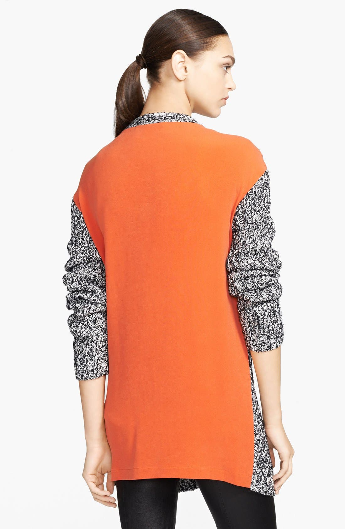 Alternate Image 2  - Robert Rodriguez Woven Back Tweed Cardigan