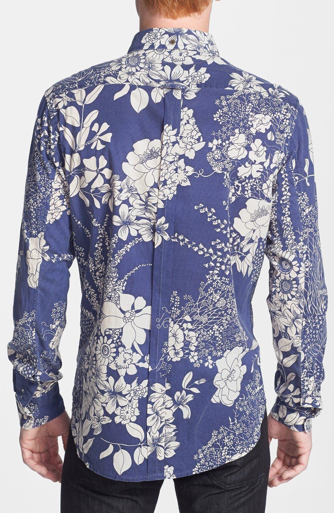 Alternate Image 2  - ZANEROBE Print Cotton Shirt