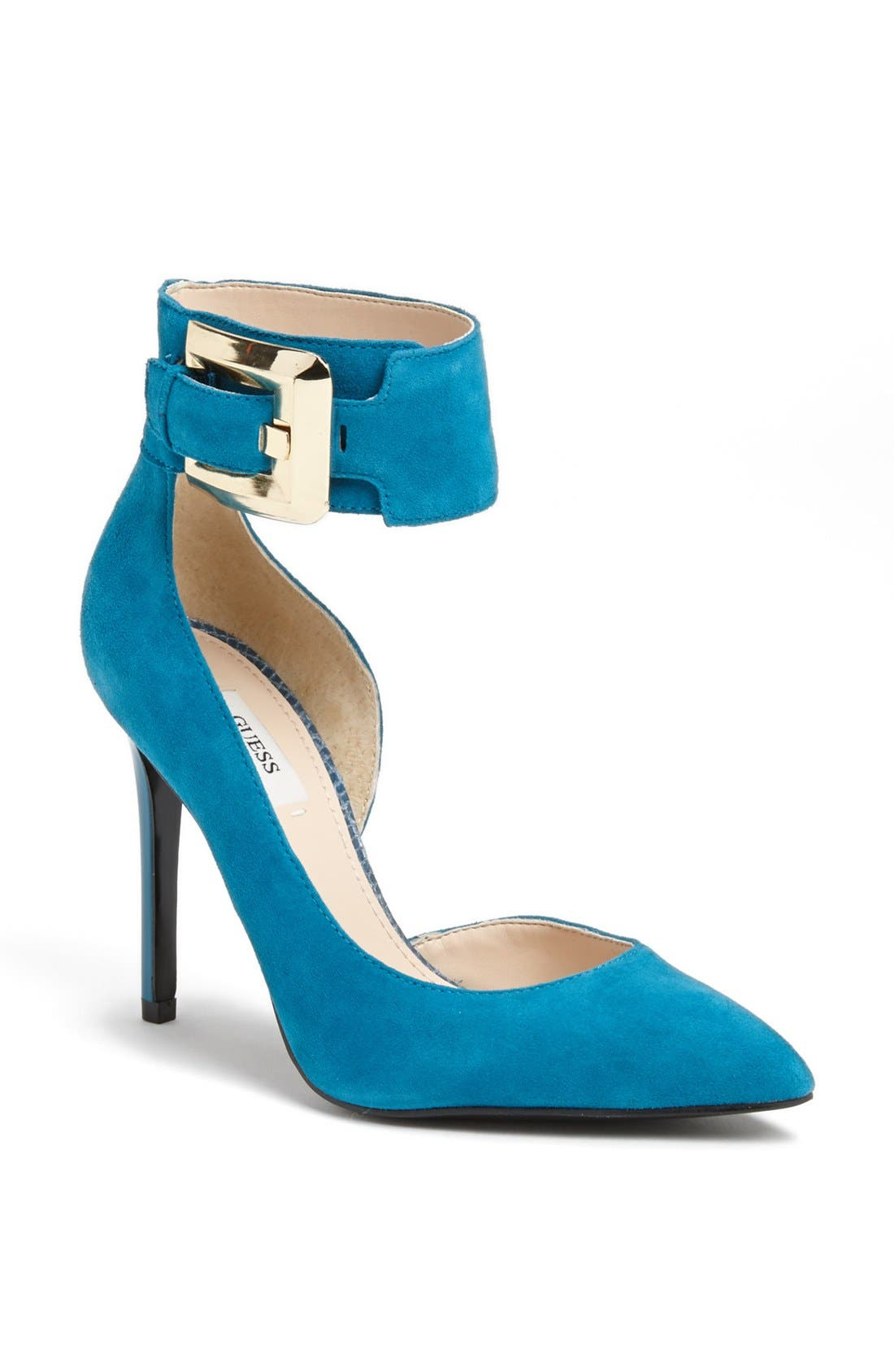 Alternate Image 1 Selected - GUESS 'Adal' Ankle Strap d'Orsay Pump