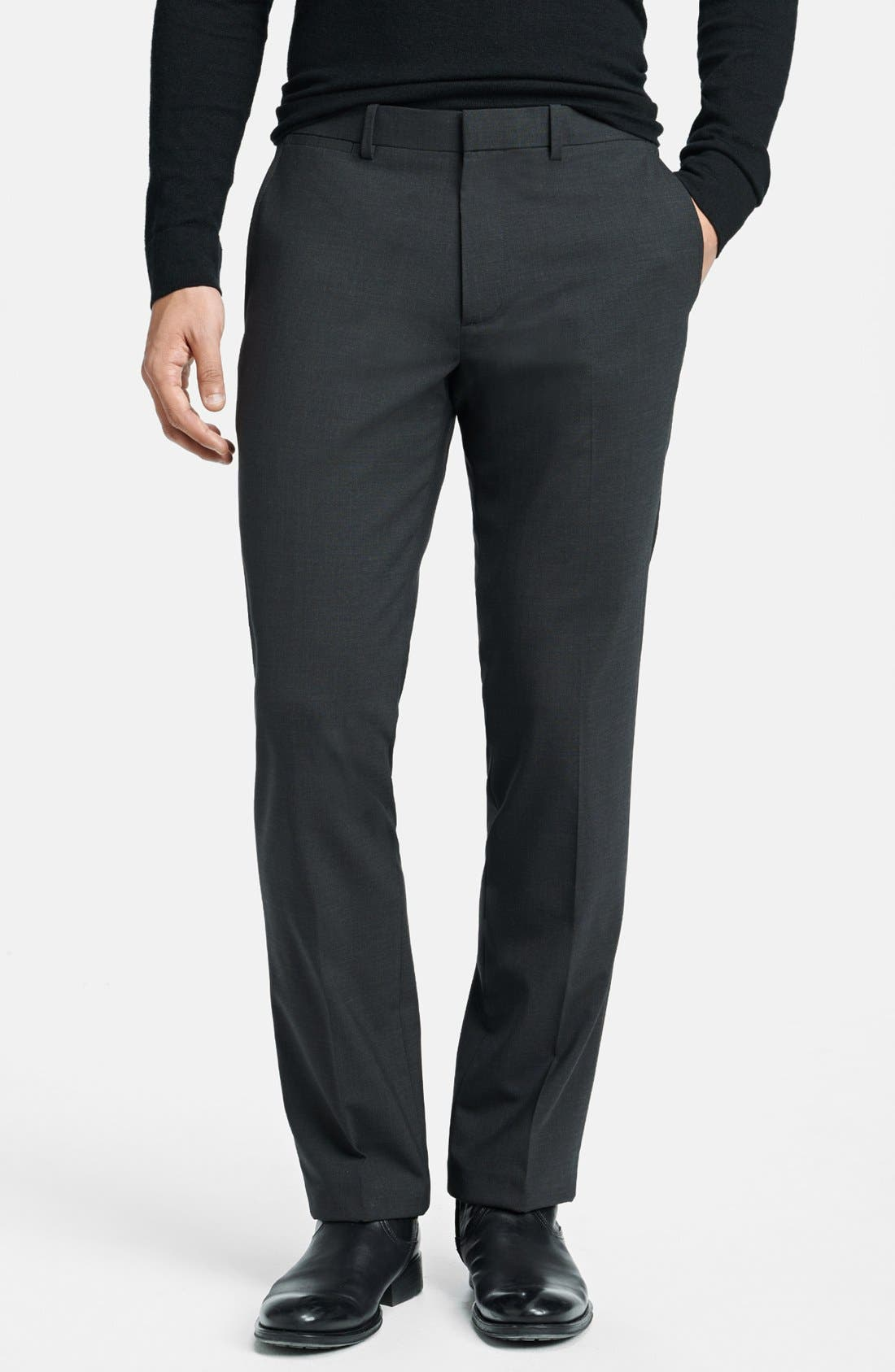 Alternate Image 1 Selected - Theory 'Marlo New Tailor' Slim Fit Pants