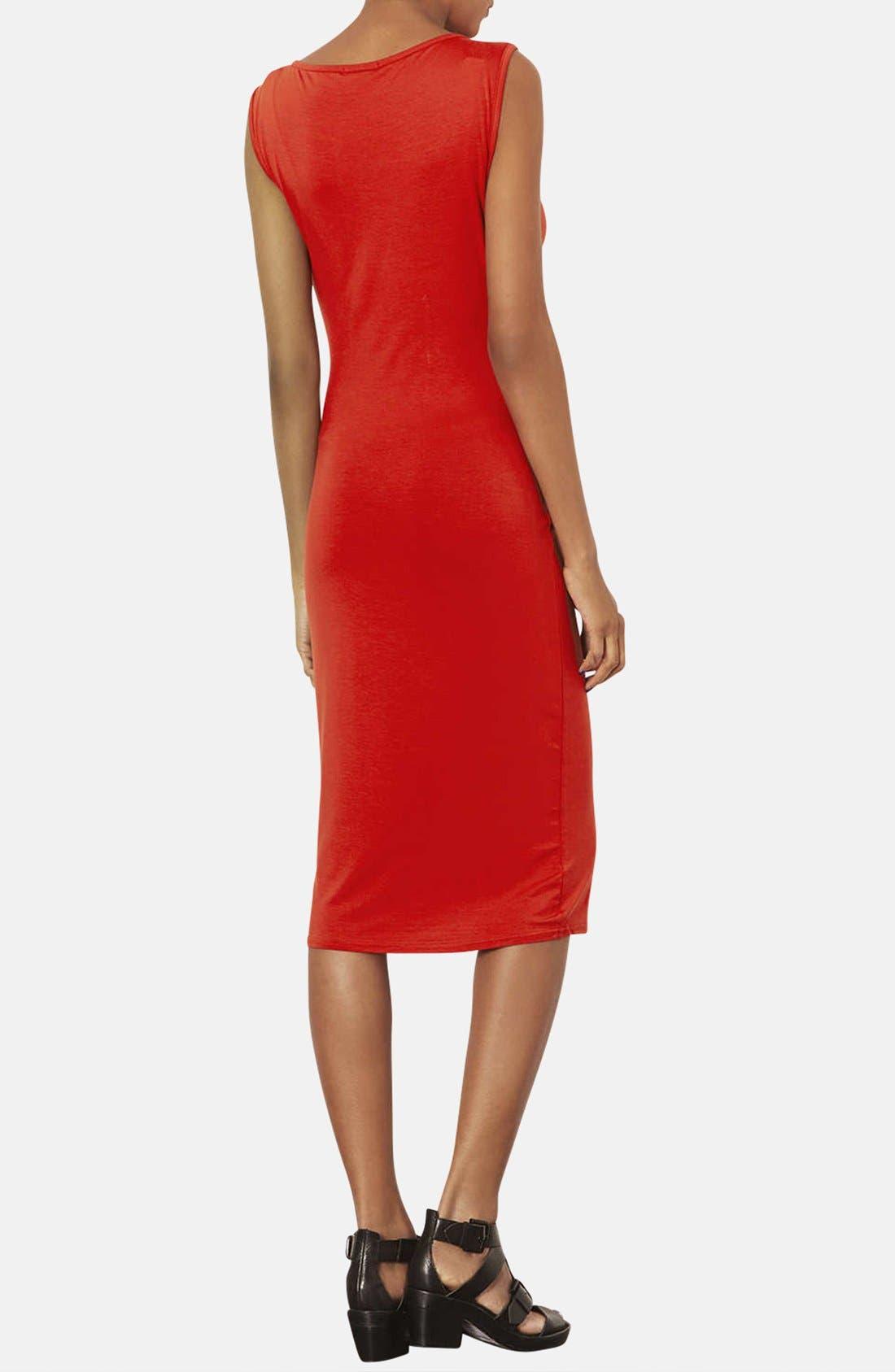 Alternate Image 2  - Topshop Jersey Body-Con Maternity Dress