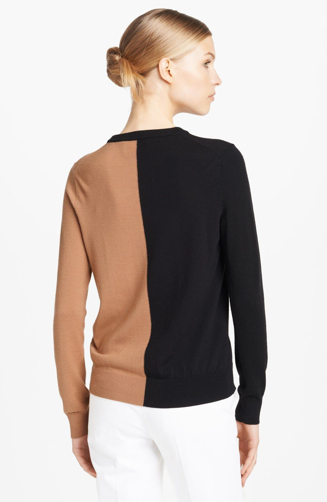 Alternate Image 3  - Michael Kors Colorblock Merino Wool Sweater