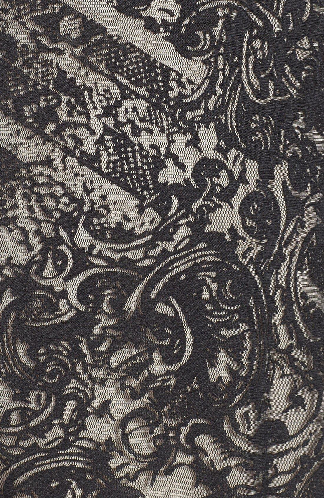 Alternate Image 3  - Kenneth Cole New York 'Skylar' Lace Overlay Sleeveless Dress