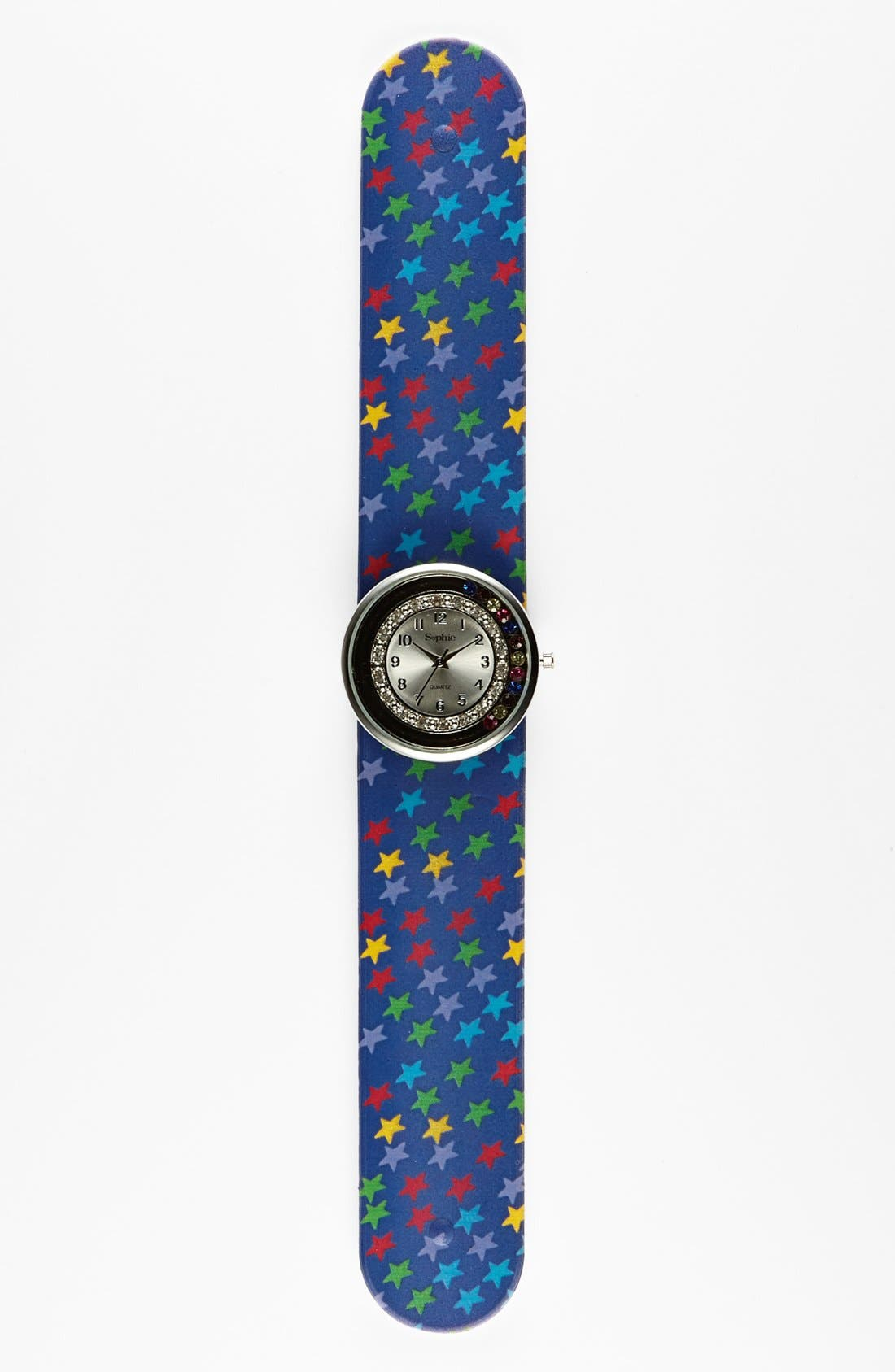 Alternate Image 1 Selected - Titanium 'Star' Slap Watch (Girls)