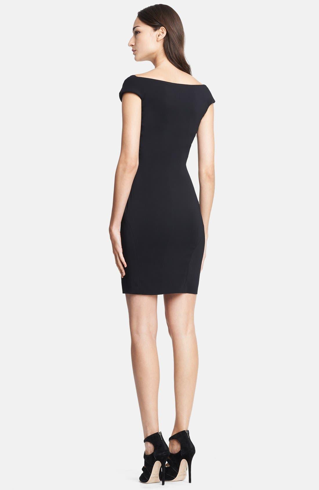 Alternate Image 2  - Emilio Pucci Side Zip Stretch Cady Dress