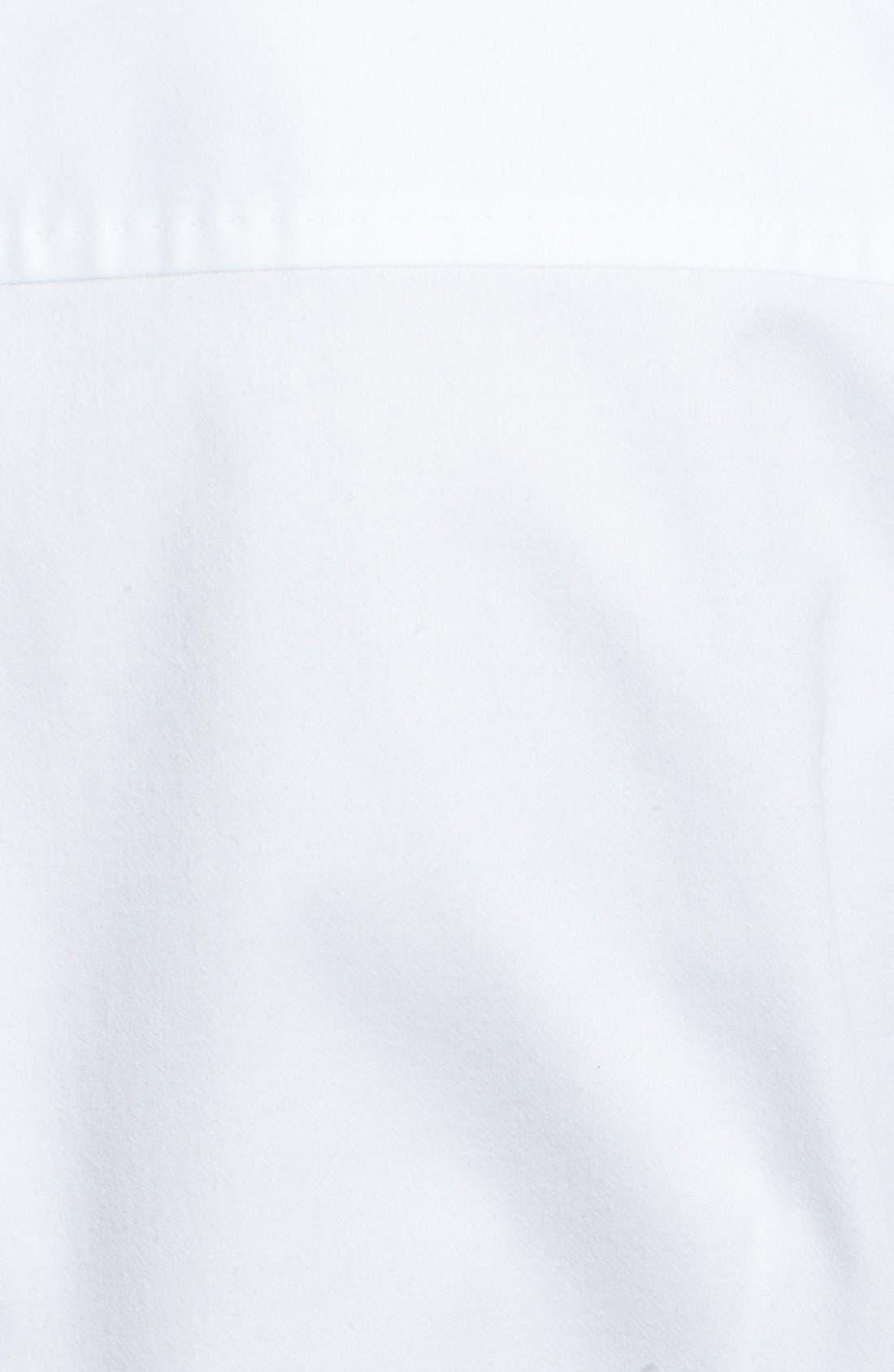 Alternate Image 3  - BOSS HUGO BOSS 'Riccarda' Contrast Trim Long Sleeve Shirt