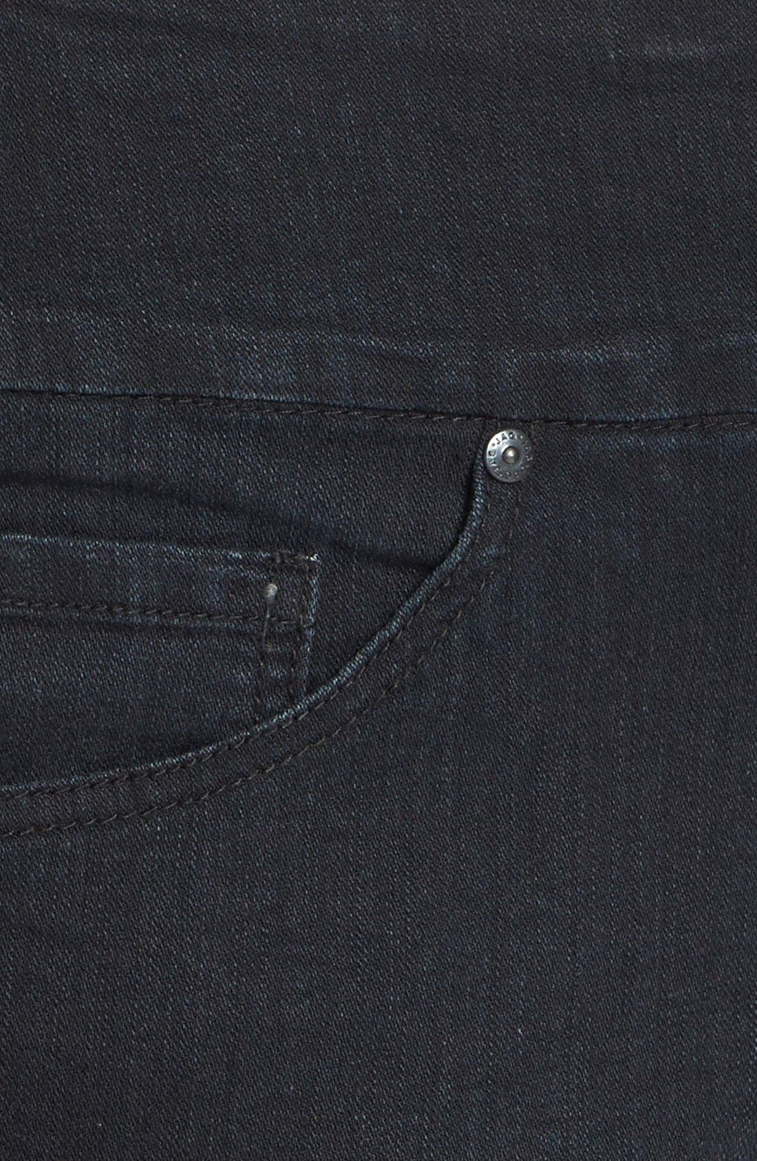 Alternate Image 3  - Jag Jeans 'Mila' Embellished Back Pocket Pull-On Straight Leg Jeans (Plus Size)