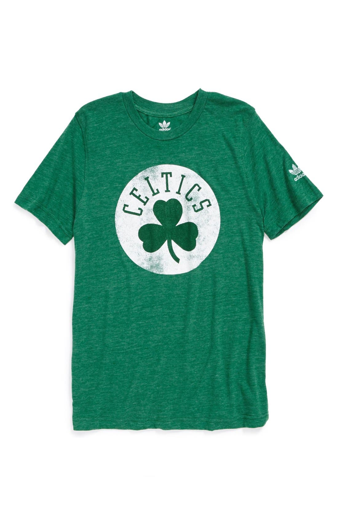 Alternate Image 1 Selected - adidas 'Boston Celtics' T-Shirt (Big Boys)