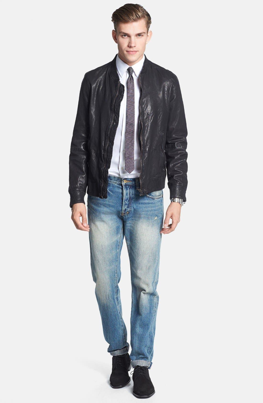 Alternate Image 5  - PRPS 'Barracuda' Straight Leg Selvedge Jeans (5-Year)