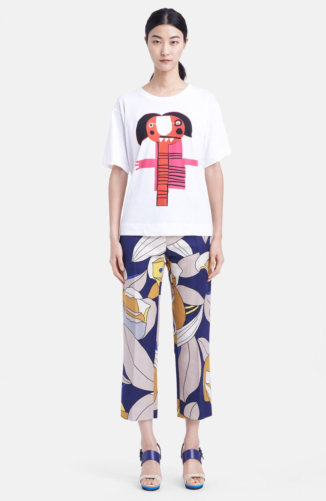 Alternate Image 3  - Marni Graphic Cotton Tee